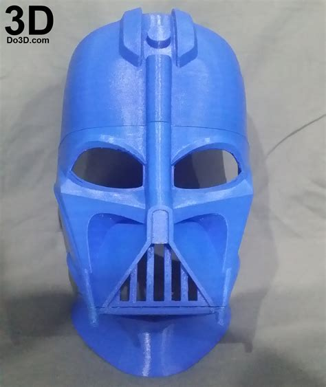 printable star wars helmet 3d printable model darth vader helmet from star wars