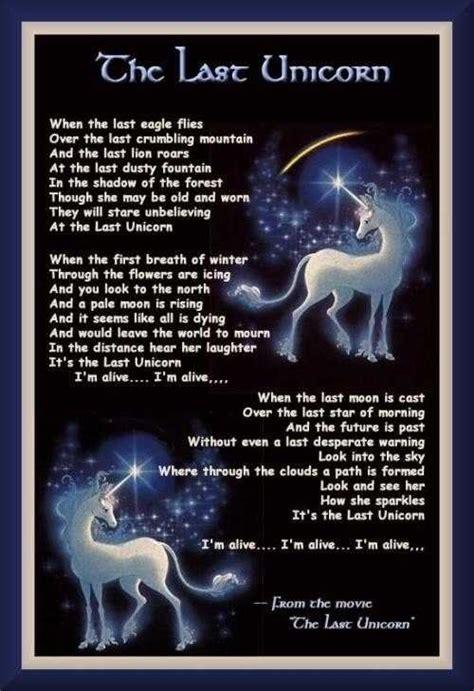 the last song book report unicorn quotes quotesgram
