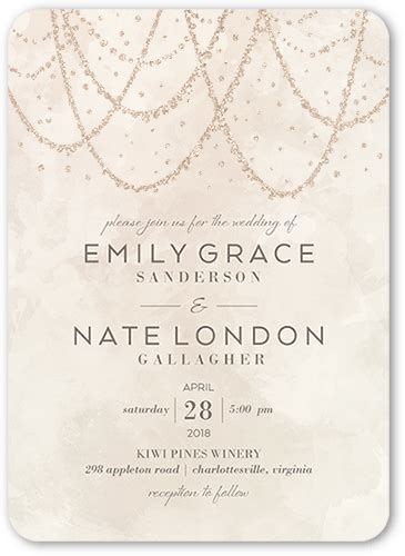 do shutterfly wedding invitations come with envelopes wedding invitations 5 free sles free shipping