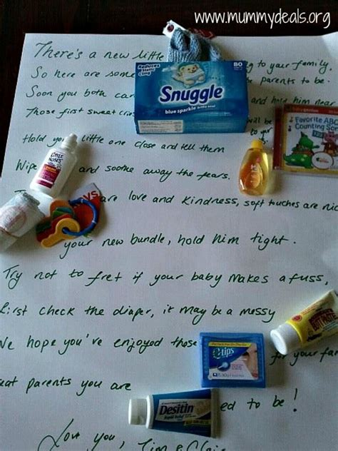 Baby Shower Gift Basket Poem by 7 Bar Poem Ideas