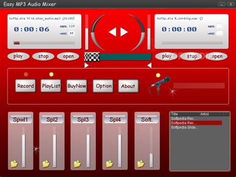 mp3 audio mixer software free download easy mp3 audio mixer download