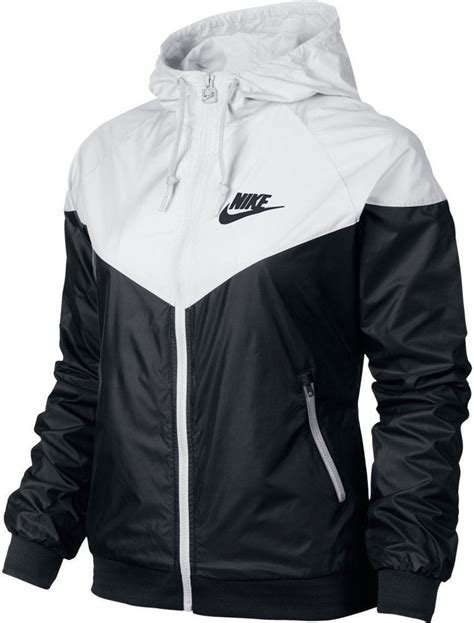 Jaket Nike Black nike windrunner s jacket windbreaker hoodie black