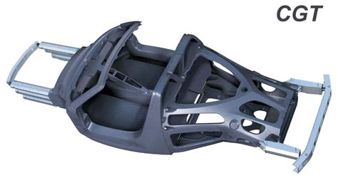 Chasis 2 Non Carbon mad scientists why not a carbon fiber frame chassis