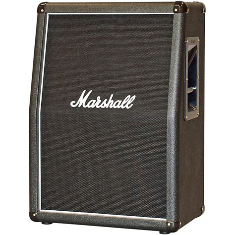 marshall 2x12 vertical slant guitar cabinet marshall 2x12 vertical slant guitar cabinet black