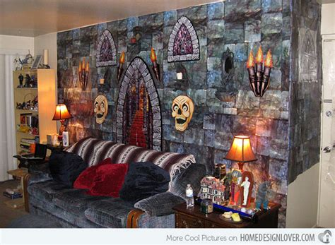 Interior Halloween Decorations 15 Spooky Halloween Home Decorations Home Design Lover