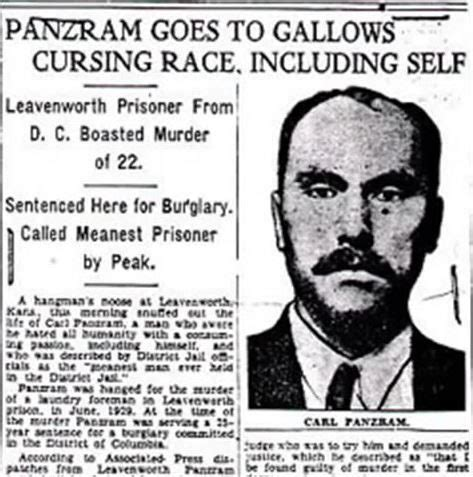panzram a journal of carl panzram was the most sadistic serial killer in history