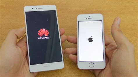 iphone v huawei huawei p9 lite vs iphone se speed test 4k