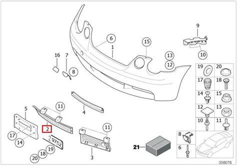 bmw bank blz original bmw e46 compact vorne sto 223 stange gitter grill oem