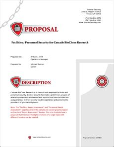 security services proposal