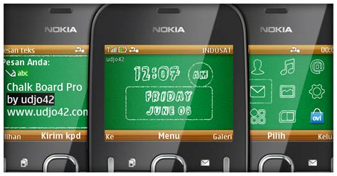 nokia c3 high quality themes udjo42 high quality nokia themes nokia c3 theme chalk