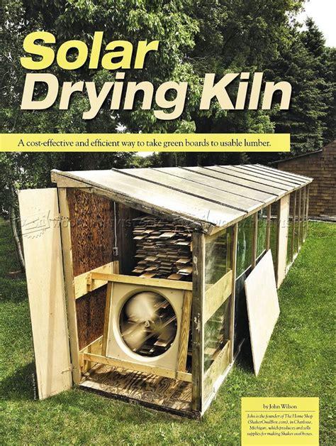 solar kiln plans  woodworking tips
