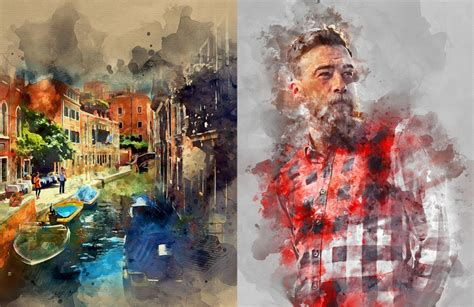 watercolor tutorial download 5 ways to create photoshop watercolor effects explained