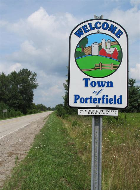 file town of porterfield marinette co wisconsin welcome