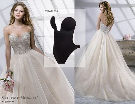 Wedding Dress You Can Wear A Bra With by Nifika 2014