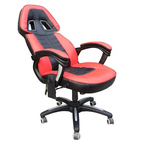 Reclining Computer Chairs by Foxhunter 6 Point Office Computer Chair Reclining