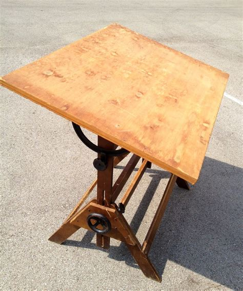 anco drafting table vintage anco bilt drafting table junk is the new black