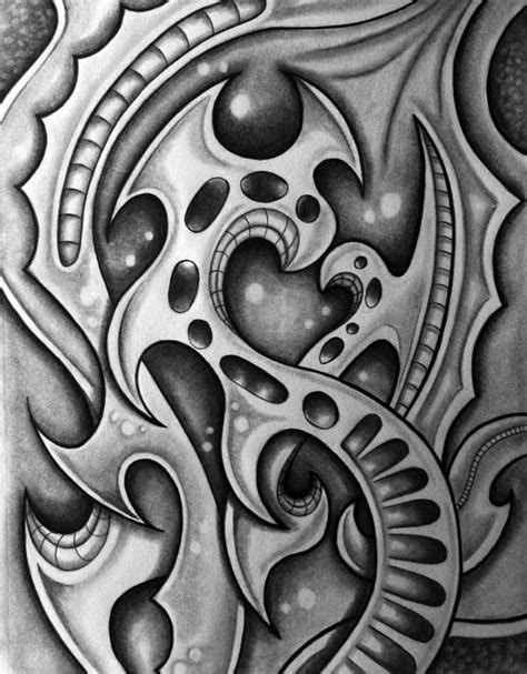 pencil drawings tattoo designs biomechanical drawings my exploration into the