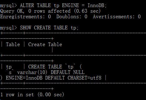 mysql change table mysql change table engine mysql mass convertion of