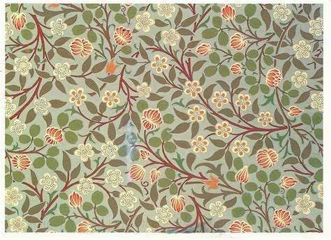 pattern making in art and craft art william morris arts and crafts clover pattern wall