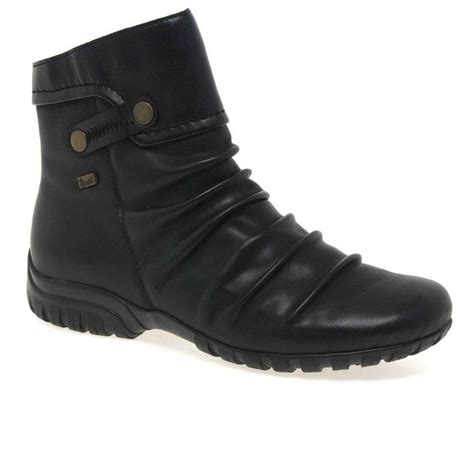 rieker minesota boots womens casual footwear charles