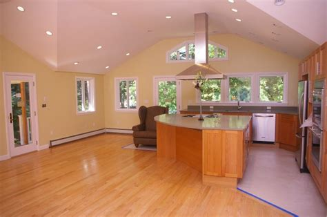 Kitchen Addition Newton Colony Home Improvement Kitchen Dining Room And Living Room All Open