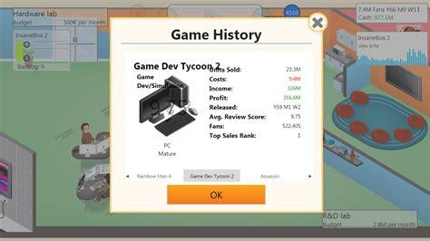 game dev tycoon official mod list indie game teabag or die
