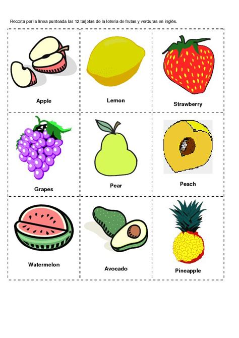 vegetables y frutas en ingles 75 best images about nutrition week on