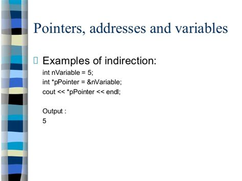 C++ Programming Course C- Pointer Indirection