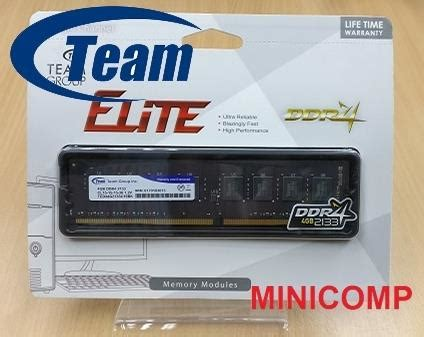 Memory Team Ddr4 4gb Pc2133 2400 For Pc And Laptop team elite 4gb ddr4 2133 desktop ram end 3 1 2019 8 15 pm