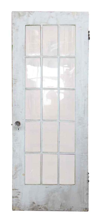 15 Glass Panel Door 15 Wavy Glass Panel Wood Door Olde Things