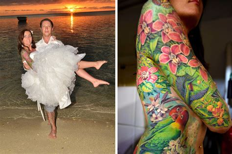 full body tattoo female with weds artist after spending 163