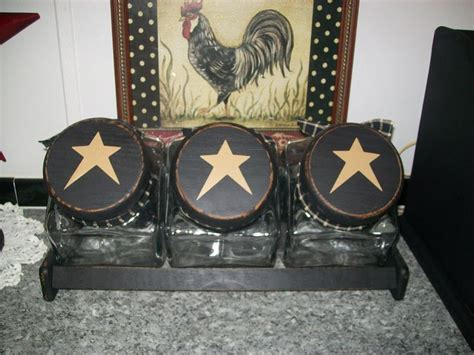 primitive kitchen canister sets best 25 primitive canisters ideas on pinterest country