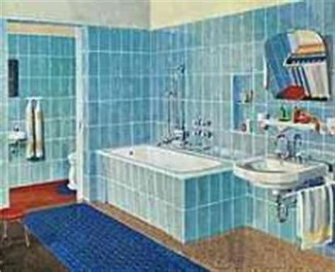 badezimmer 30er jahre bauen wohnen 1955