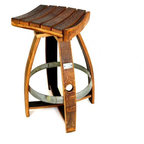 Wine Barrel Swivel Bar Stools by Wine Barrel Bar Stool With Memory Swivel