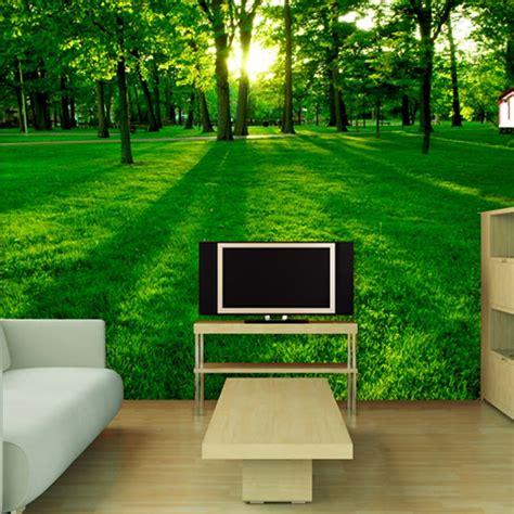 Bedroom Landscape Tv Backdrop Painted Scenery Living Room Sofa