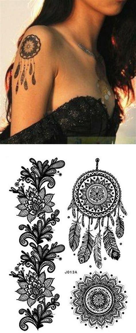 henna tattoo schwarz henna schwarz black flash aufkleber