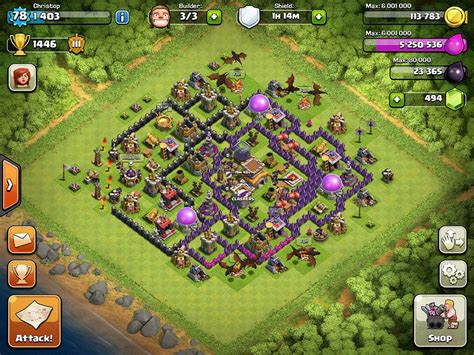layout coc level 21 clash of clans town hall level 8 base layout chainimage