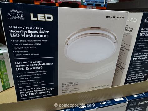 costco led light 2015 october