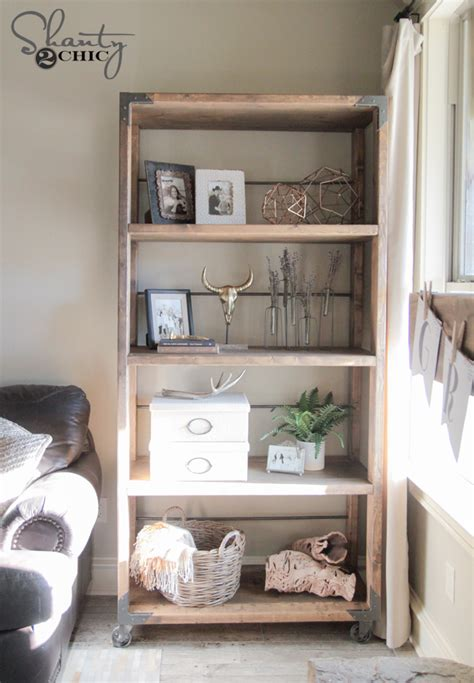 diy bookshelf by shanty2chic diy done right