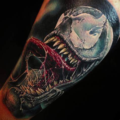 venom tattoos sick venom by abrego