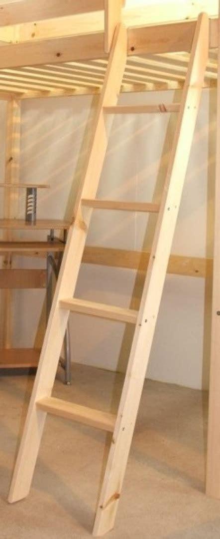 Wooden Bunk Bed Ladder by Bunkbed Ladder Solid Pine Bunk Bed Ladder