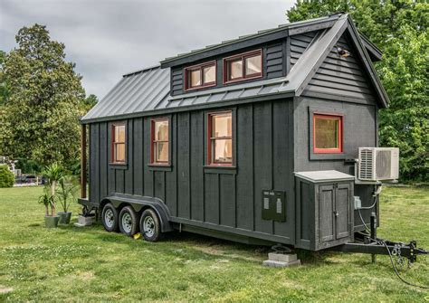 tiny house build tiny house town the riverside by new frontier tiny homes