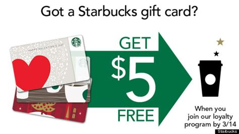Starbucks Register Gift Card - starbucks offers free 5 to gift card holders that register to my starbucks rewards