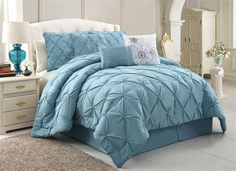 Chic Emma Luxury Comforter Sets Blue Bedding Sets Luxury