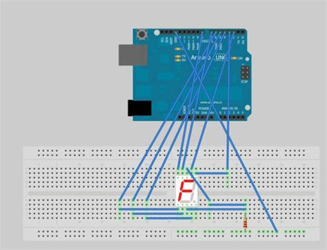 arduino tutorial 7 segment display arduino seven segment display tutorial use arduino for
