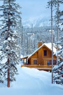 cabin in the snowy mountains cabins