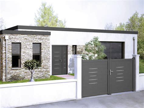 Portail De Maison Moderne by 15 Id 233 Es De Portails Battants Modernes Jaimemonartisan