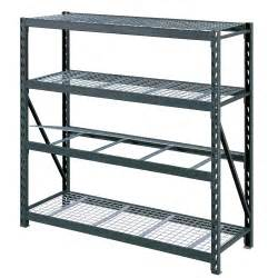 wire shelving costco costco uk whalen 4 tier 77 quot 195cm industrial storage rack