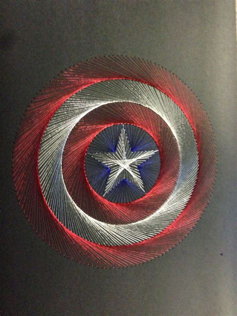 hand stitched captain america shield logo seni dekor