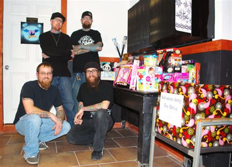 twizted needle tattoo north platte tattoo shop collecting toys for children indeed a good